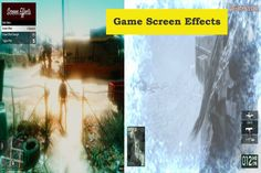 Special Effects that are place on the complete screen space and are very attractive and makes playing more fun.