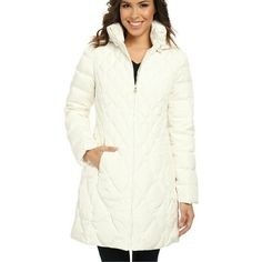 Jessica Simpson jacket COAT size XL Retail price: $345.00  More comforting than a cup of hot cocoa, this chic coat delivers style and warmth when the cold temps come rolling in. Down insulation stays in place thanks to quilted construction. Removable drop hood. Stand collar extends protection. Full-zip front closure. Long-sleeve coverage. Zip hand warmer pockets. Straight hemline. Shell Full Lining: 100% polyester. Fill: 55% duck down, 45% waterfowl feathers. Machine wash cold, tumble dry…