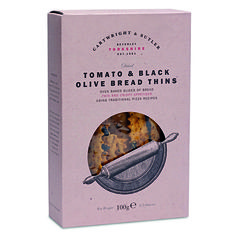 Cartwright & Butler Tomato & Black Olive Bread Thins