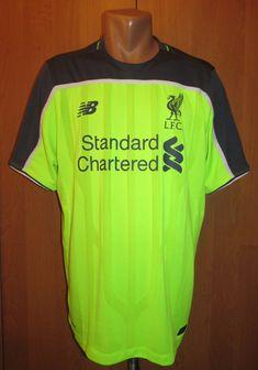 Liverpool 2016/2017 third football shirt by New Balance LFC LiverpoolFC England jersey soccer Anfield YNWA #liverpool #LFC #ynwa #england #football #soccer#jersey #newbalance