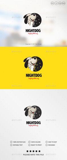 Dog Logo Template PSD, Vector EPS, AI Illustrator