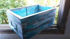 Cajon archivador reciclado