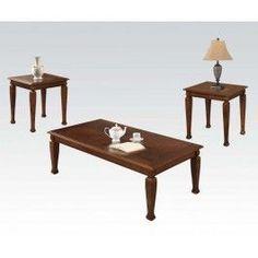ACMEF81382-3pc Pk Coffee/end Table Set