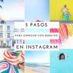 Empezamos semana con 5 pasos básicos para mejorar tu cuenta en #Instagram [haz clic para ver link al post] y algunas de mis instagrammers preferidas. ¿Cuáles son las tuyas? Compártelas en los comentarios para que las veamos todas ;) #instagramtips
