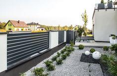 House Fence Design, Front Yard Garden Design, Front Gate Design, Door Gate Design, Front Yard Fence, Backyard Fences, Backyard Landscaping, House Front, My House