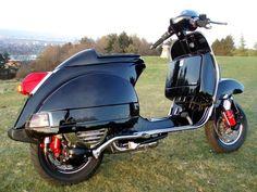 vespa px200 caferacer - Tìm với Google Piaggio Scooter, Scooter Bike, Vespa Scooters, Cafe Racing, Cafe Racer Motorcycle, Vespa Px 200, Vespa Super, Classic Vespa, Custom Bobber