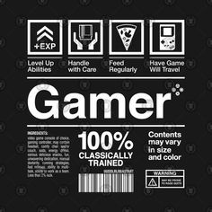 Shop Essential Gamer gamer t-shirts designed by machmigo as well as other gamer merchandise at TeePublic. Web Design, Label Design, Layout Design, Shirt Print Design, Gaming Wallpapers, Peace Quotes, Typography, Lettering, Graphic Design Posters
