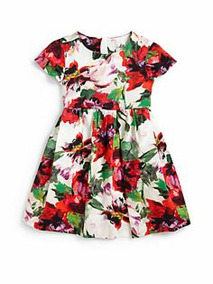 MILLY MINIS Toddler's & Little Girl's Bouquet Floral Dress
