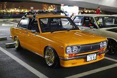 Edy Gomez saved to Datsun. Datsun 1600, Datsun Car, Tuner Cars, Jdm Cars, Datsun Bluebird, Toyota Cressida, Japanese Sports Cars, Dream Car Garage, Yellow Car