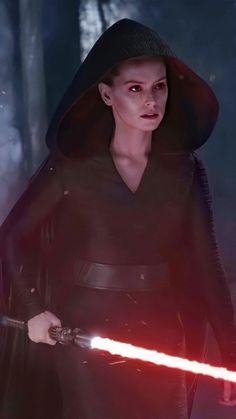 Rey Cosplay, Finn Star Wars, Star Wars Fan Art, Star Wars Pictures, Star Wars Images, Reylo, Daisy Ridley Star Wars, Star Wars Sith, Clone Wars