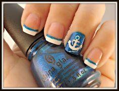 Adorable anchor nails