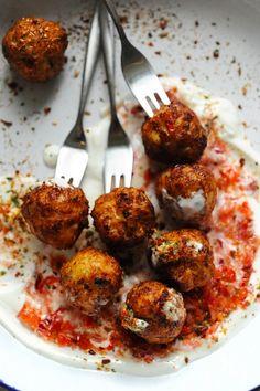 Spicy chicken balls