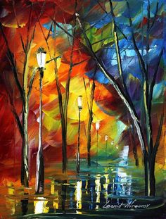 MY TEARS - LEONID AFREMOV by Leonidafremov.deviantart.com on @deviantART