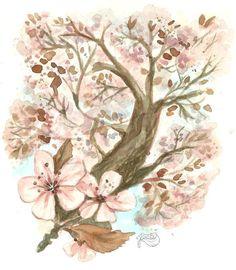 Spring Blossom - via @Craftsy