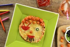 Esta divertida pizza pirata es ideal para divertirte con tus hijos e…