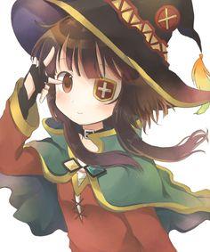 Konosuba Anime, Moe Anime, Chica Anime Manga, Loli Kawaii, Kawaii Girl, Megumin Explosion, Aqua Konosuba, Animes On, Cute Anime Pics