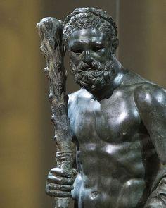 Bronze statue of Roman, century AD. Romans 2, Classical Antiquity, Roman Empire, Hercules, Archaeology, Art History, Photo Art, Museum, Alanya