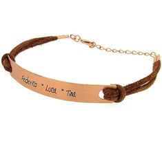 41 best personalized leather bracelets images custom leather