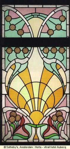 Victor Horta (1861-1947) | Hotel Aubecq, Bruxelles | vers 1902
