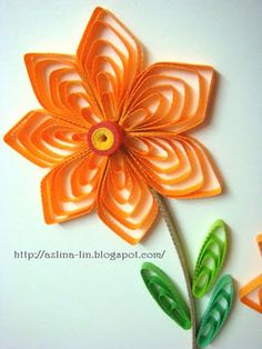 Cascading Loops tutorial using quilling comb