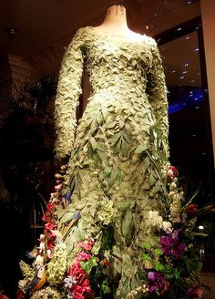 The flower dress.... the photo shoot on FB shows this in it's true glory