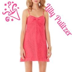 Reduced! Paisley Lace Lilly Pulitzer Dress