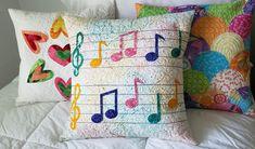 Musical Notes Pillow Tutorial