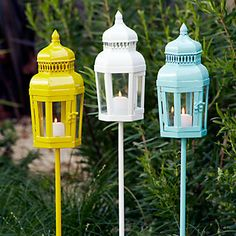 Stylish Lanterns from Z Gallerie at seriously affordable prices.    Roost: Fun Find....Outdoor Lanterns
