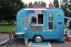 Ideas For Food Truck Ideas Vans Coffee Carts Coffee Food Truck, Deco Cafe, Mobile Food Cart, Mobile Coffee Shop, Coffee Trailer, Mobile Cafe, Coffee Van, Coffee Business, Bakery Business