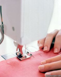 Joining two pieces of fabric together in a perfect straight seam is essential for almost every sewing project.