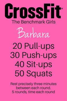 CrossFit workouts for fat burning and muscle toning. Get in shape FAST! #crossfitworkouts #crossfitgirls #crossfit