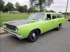 68 Plymouth Satellite Wagon