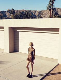 Harpers Bazaar. Palm Springs eternal.