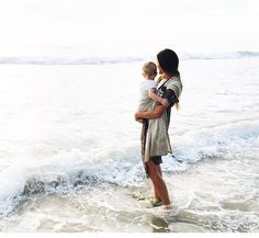 pinterest// @kenna133 Mom And Baby, Mommy And Me, Baby Love, Baby Kids, Family First, Family Love, Family Goals, Beach Photography Children, Family Photography