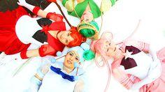 05/11/16 This is a fantastic cosplay!  ✫★ Sailor Saturn ★✫  Found at :http://gale583.deviantart.com/ Cosplayers: Sailor Juno - Shiva Sailor Ceres - AkaneSaotome Sailor Pallas - Erisaka Sailor Vesta - Gale