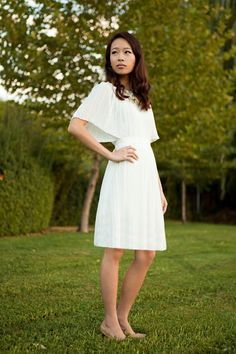 DIY-Pleated Dress || One of the Easiest and Best Refashions I've seen