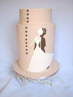 silhouette cake #2 | Flickr - Photo Sharing!