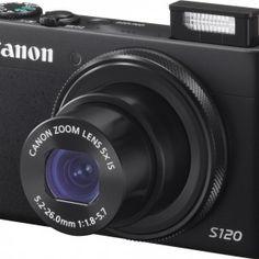 [Canon Powershot S120] La resolución de la lente de la Canon Powershot S120 se mantiene en 12 megapíxeles (igual que su predecesora) y el sensor es de tipo 1/1.7 Cmos. El cristal es del tamaño de 24-120 mm y cuenta con un teleobjetivo óptico de hasta 10x y un teleobjetivo digital de hasta 4x. Leer mas... http://topcamarasdefotos.es/producto/canon-powershot-s120/
