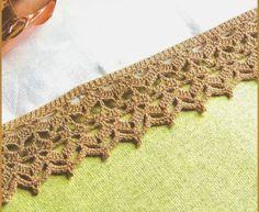 Aprendi Vovó: Bico de Crochê Marrozinho - Gráfico