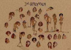 Karakter Kıyafetleri - Tarih öncesi / Character Outfit - Prehistoric | Find us…