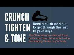 Crunch, Tighten & Tone #LLBFitness