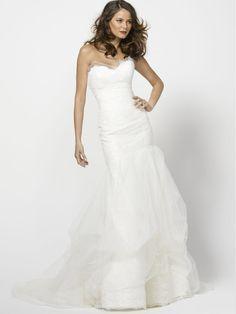 Elfenbein Lace trägerlos Passform und Flare Trend Brautkleid $324 Hochzeits http://www.dazukleider.de