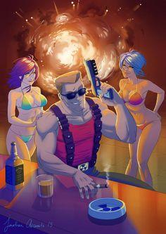 Duke Nukem Fanart - COME GET SOME !!! by tonton-jojo on DeviantArt