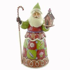 Jim Shore SWEETEST SANTA 4034359 Christmas Gingerbread New