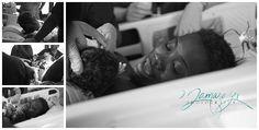 San Antonio birth, African American newborn, military birth story, newborn girl