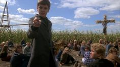 Children of the Corn Blu-ray Review   Children of the Corn: 1984 Stephen King adaptation somewhat pulls its punches but is still a fun gruesome horror movie  In the 1980s Stephen King movies were all the rage due to the success of A-list horror masterworks like Brian De Palmas Carrie Stanley Kubricks The Shining John Carpenters Christine and David Cronenbergs The Dead Zone with every minor league King short story being optioned adapted and expanded for feature film length. And most of these…