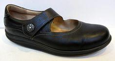 Finn Comfort 'Salo' Black Leather Mary Jane Size 8.5 #FinnComfort #MaryJanes