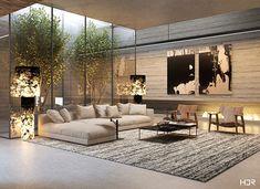 Big Living Rooms, Living Room Modern, Interior Design Living Room, Living Room Designs, Living Room Decor, Living Room Bedroom, Dream Home Design, Modern Home Interior Design, Luxury Home Decor