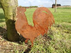 Rusty Rooster / Cockerel Garden Art / by RustyRoosterMetalArt