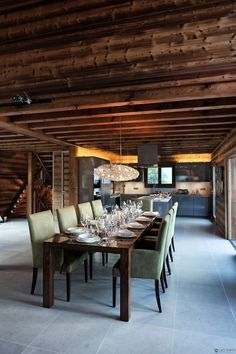 One Oak Chalet in Combloux, French Alps :: dining